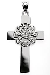 Firefighter jewelry silver pendant maltese cross nick lannans blog firefighter jewelry from lannan jewelry services item silver maltese cross pendant aloadofball Choice Image
